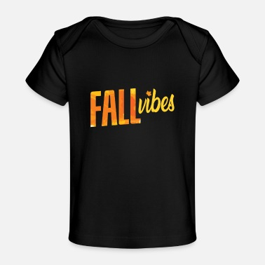 Summer Colors Autumn Fall vibes - Baby Organic T-Shirt