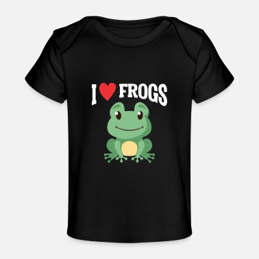 Animal Child Frog Lover Kid Funny Animal Child Frog Catcher - Baby Organic T-Shirt