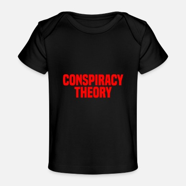 Moon Landing Conspiracy Theory Hoax Science Illuminati Moon lan - Baby Organic T-Shirt