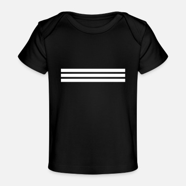 Punctuation Marks Shape line line bars punctuation mark gift - Baby Organic T-Shirt
