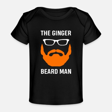 Hair Red Hair Beard Orange Gift - Baby Organic T-Shirt