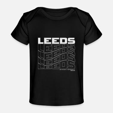 Nottingham Flag Leeds England UK - Baby Organic T-Shirt