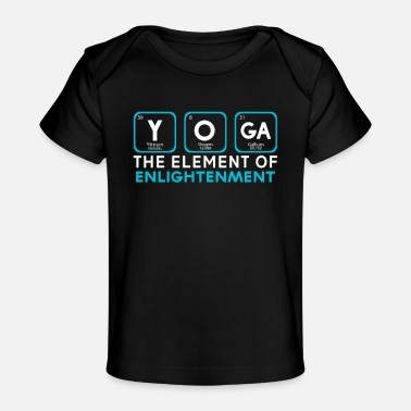 Enlightenment Yoga the Element of Enlightenment - Baby Organic T-Shirt