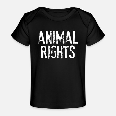 Animal Rights Animal Rights - Animal Rights Vintage Style - Baby Organic T-Shirt