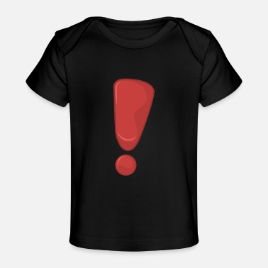 Punctuation Marks Exclamation Mark - Baby Organic T-Shirt