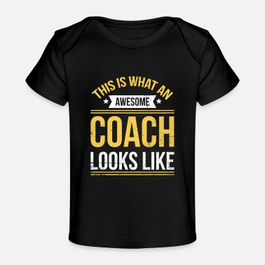 Tennis Trainer Tennis Lesson Quote for a Tennis Trainer - Baby Organic T-Shirt