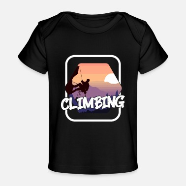 Hiking Climbing Rocks - Baby Organic T-Shirt