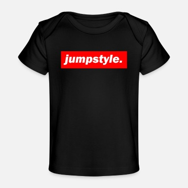 Jumpstyle techno mischpult red bass bpm jumpstyle - Baby Organic T-Shirt