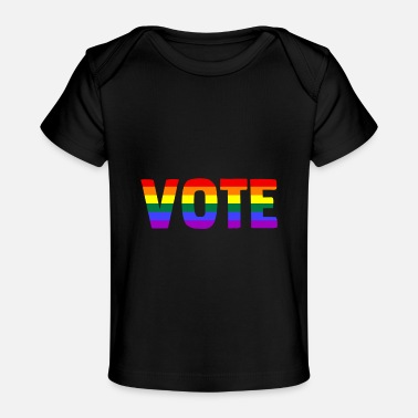 Nasty Gay Lgbt Vote Counts 2020 Voter Feminist Gay Pride Nas - Baby Organic T-Shirt