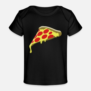 Pepperoni pepperoni pizza slice - Baby Organic T-Shirt
