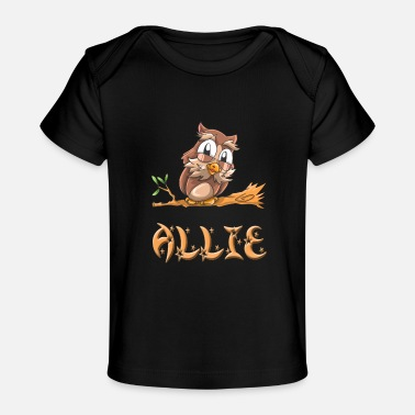 Ally Allie Owl - Baby Organic T-Shirt