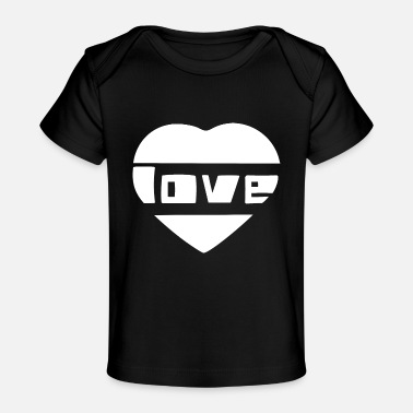 Love With Heart love wlove with heart - Baby Organic T-Shirt