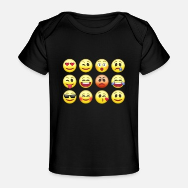 Emoticon Emoticons - Baby Organic T-Shirt