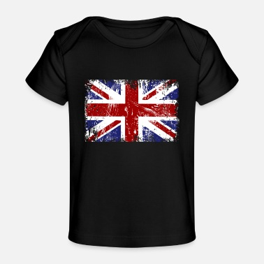 Jack British Flag Union Jack - Baby Organic T-Shirt