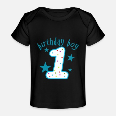 1st Birthday 1st Birthday Boy - Baby Organic T-Shirt