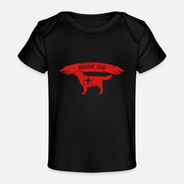 Search Dog Rescue Dog search dog - Baby Organic T-Shirt