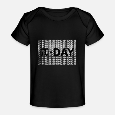 T Count Pi-Day π Mathematics 3.14159.. - Baby Organic T-Shirt