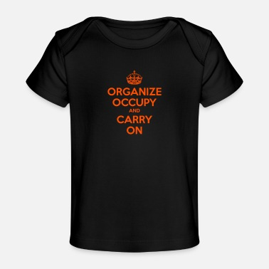 Wall Street OCCUPY WALL STREET - Baby Organic T-Shirt