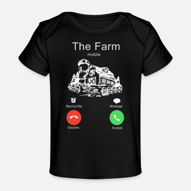 Agriculture the farm is calling - Baby Organic T-Shirt