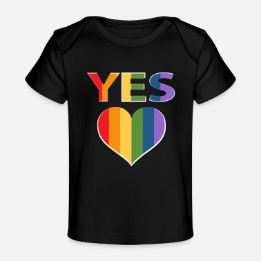 Marriage Equality Yes to marriage equality Australia - Baby Organic T-Shirt
