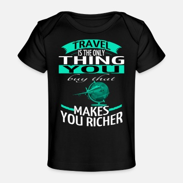 Travel Agent camp trip motivation adventurous - Baby Organic T-Shirt