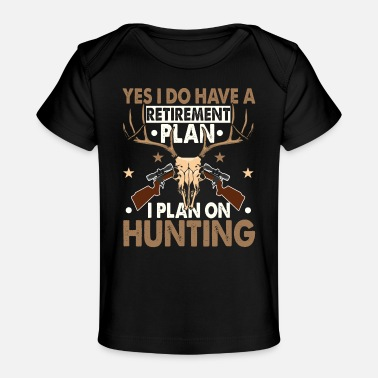 Retired Afghanistan Retirement Funny Deer Hunter Hunting Gifts - Baby Organic T-Shirt