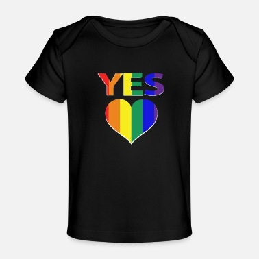 Marriage Equality yes vote in marriage equality - Baby Organic T-Shirt