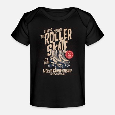 Roller Skates Club The Classic 1980 Roller Skate - Baby Organic T-Shirt