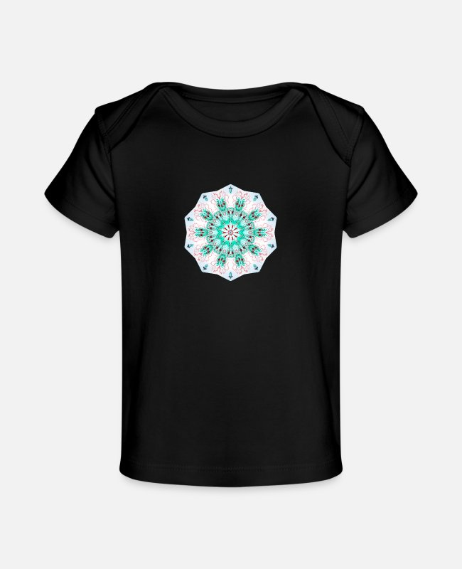Design Baby T-Shirts - Siphonophorae 37 - Baby Organic T-Shirt black