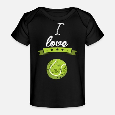 Pro I love Tennis sports gift - Baby Organic T-Shirt