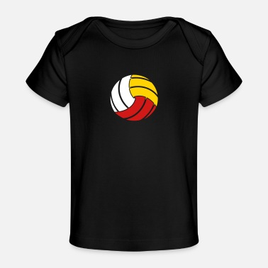 Beach Volleyball Volleyball - Baby Organic T-Shirt