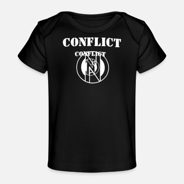 Conflict Conflict - Baby Organic T-Shirt