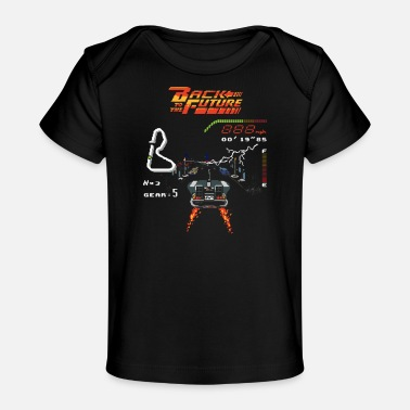 Future Back to the Future - Baby Organic T-Shirt