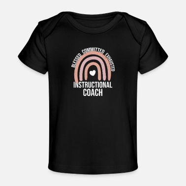 Instructions Instructional Coach Instructional Coaching Teacher - Baby Organic T-Shirt