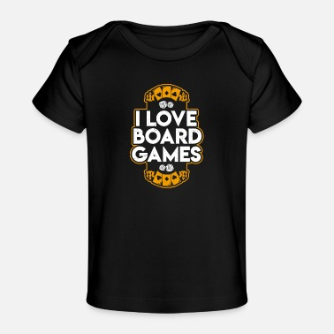 Game Board Games - Baby Organic T-Shirt