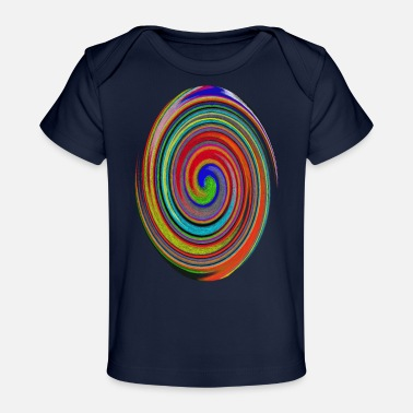 Colors Colorful mix of colors - Baby Organic T-Shirt
