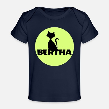 Name Bertha name first name - Baby Organic T-Shirt