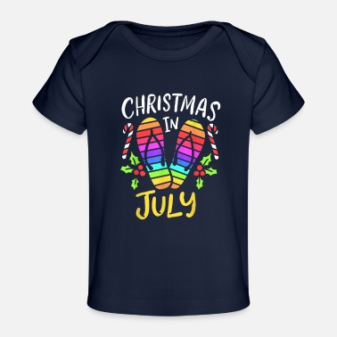 Summer Fairy Tale Christmas In July Summer Vacation - Baby Organic T-Shirt