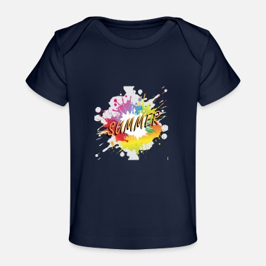 Summer Colors Colored summer - Baby Organic T-Shirt