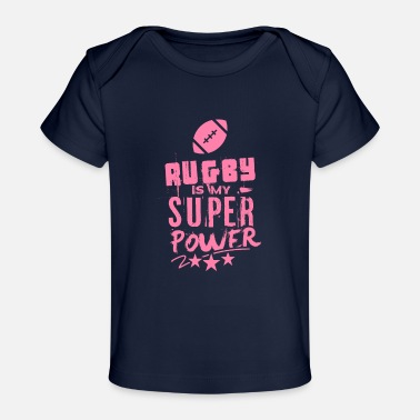 Players Rugby Player Rugby Player Rugby Player - Baby Organic T-Shirt