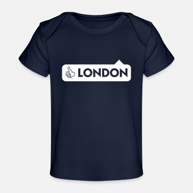 Thames London Is Great! - Baby Organic T-Shirt