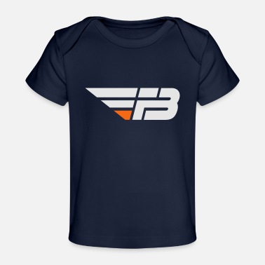 Factor B FBL White & Orange (nname - Baby Organic T-Shirt