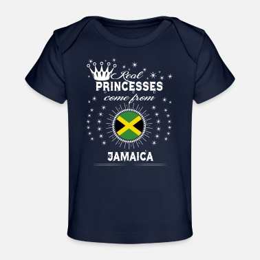 Sweet Jamaica queen love princesses JAMAICA - Baby Organic T-Shirt