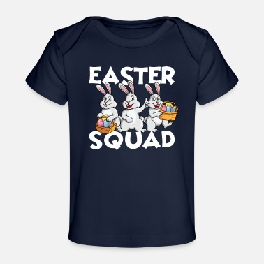 Easter Bunny Easter Squad Egg Hunt - Baby Organic T-Shirt