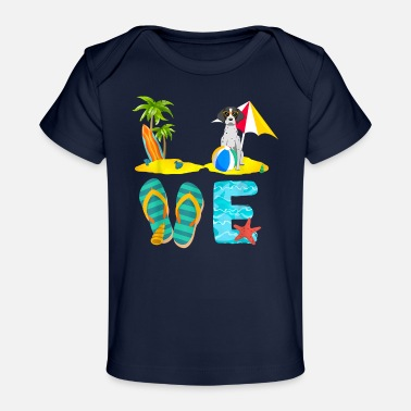 Summer Vacation Shirts German Shorthaired Pointer - Baby Organic T-Shirt