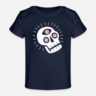 Enlightenment Enlightened Skull - Baby Organic T-Shirt