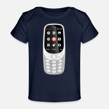 Mobile Phone Mobile Phone - Baby Organic T-Shirt