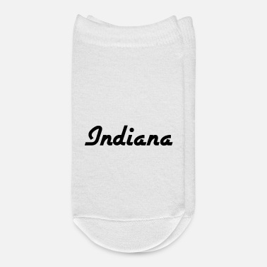 Us State Indiana - Indianapolis - US State - United States - Ankle Socks