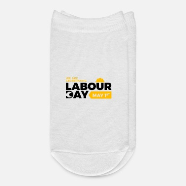 Laboratory Happy Labour day 1st may - Ankle Socks