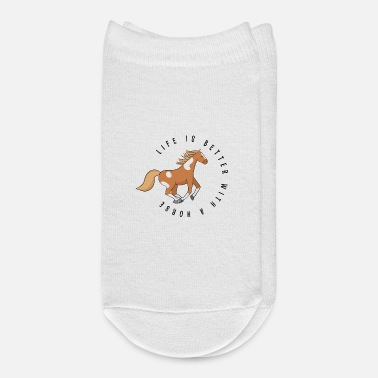 Horse Horse Sayings - Ankle Socks